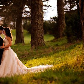 Precious Moment by Cesar Palima - Wedding Bride & Groom