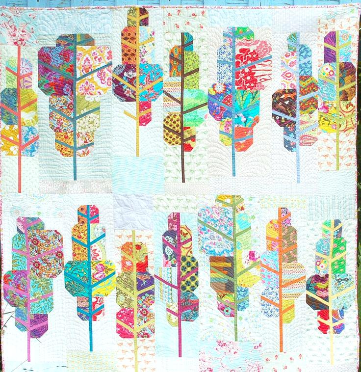 Image result for modern scrap quilts