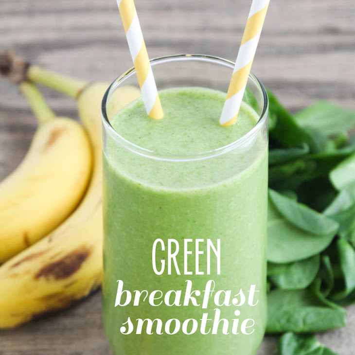 Green Breakfast Smoothie Recipe