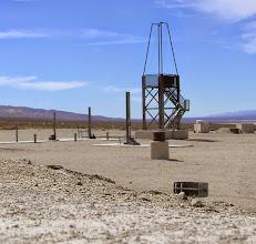 Photo: Static test fire of a bigger sugar rocket