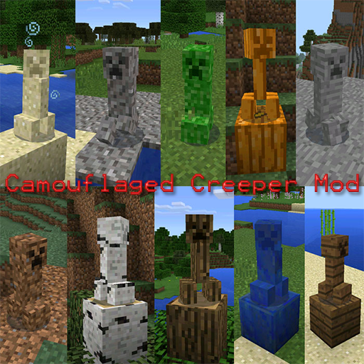 Camouflaged Creeper Mod Guide