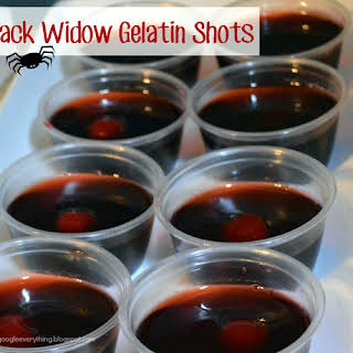 Black Widow Gelatin Shots.