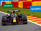 Max Verstappen is het snelst in tweede vrije training in GP van België