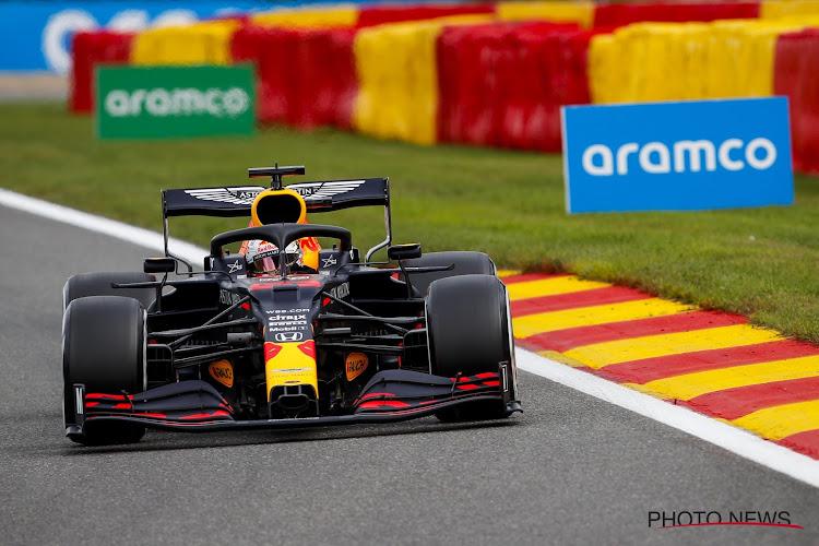 Verstappen rondt goede eerste dag in Spa af met winst in tweede sessie, Ferrari's bij de traagste tijden