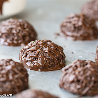 Double Chocolate Macaroons (Gluten Free, Paleo + Vegan)