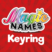 Magic Names Light-Up Keyring - Australia / NZ