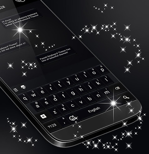 Black Style Keyboard 2020 screenshots 1