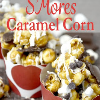 National S'Mores Day Caramel Popcorn