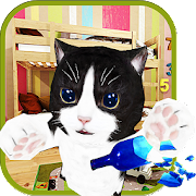 Kitten Cat Craft Simulator :Cute cat in Kids Room