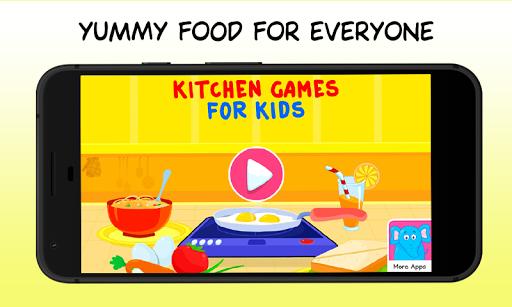 Kitchen Games - Fun Kids Cooking & Tasty Recipes 1.0 screenshots 1
