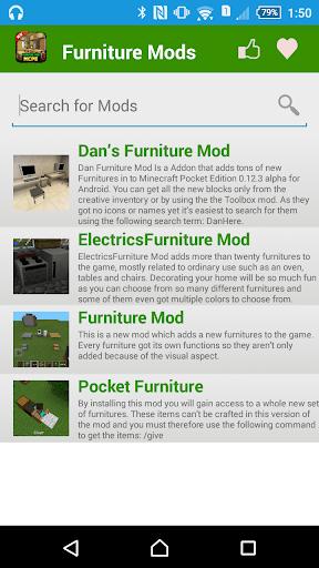 無料娱乐AppのMCPE家具モッズ!|記事Game