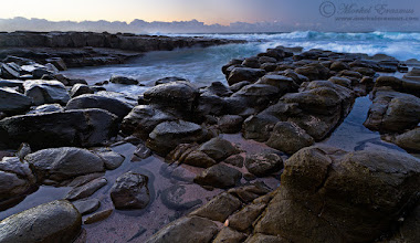 """Photo: """"Push and Pull"""" Rocky Shoreline at Dawn Haga-Haga, Wild Coast, Eastern Cape Province, South Africa  I'm sitting doing some processing and thought I might as well share a photo with my G+ friends. This photo was captured early one morning back in 2010 on the South African Wild Coast. I don't shoot nearly as many seascapes as I want to...with the kids getting to an age where they enjoy the beach a lot now that should begin to change in the next few years...though I live a half-day's drive from the nearest ocean!  I hope you have a relaxing Sunday!  This photo is Copyrighted © Morkel Erasmus Photography.  WEBSITE: www.morkelerasmus.com WILD-EYE SAFARIS: www.photography.wild-eye.co.za  You may share this image as presented here under the Creative Commons Attribution-NonCommercial-NoDerivs 3.0 licence (CC BY-NC-ND 3.0).  More info: http://creativecommons.org/licenses/by-nc-nd/3.0/  Submission for: 1. #beachsunday +Beach Sunday curated by +Ross Campbell  2. #DawnOnSunday +Dawn On Sunday curated by +Ray Bilcliff +Sherry McBriar +linda stokes 3. #sundaysubtlelandscapes +Sunday Sublte Landscapes curated by +Steve Sieren 4. #LandscapePhotography +Landscape Photography curated by +Margaret Tompkins , +Carra Riley , +paul t beard , +David Heath Williams , +Bill Wood , +Jim Warthman , +Ben T , +jeff beddow ,+Jeannie Danna , +Tom Hierl , +Vishal Kumar 5. #hqsplandscape +HQSP Landscape curated by +Ara MO , +Delcour Eric , +Blake Harrold 6. #plusphotoextract by +Jarek Klimek   #SouthAfrica  #WildCoast  #seascape  #rocks  #beach  #sunrise  #dawn"""