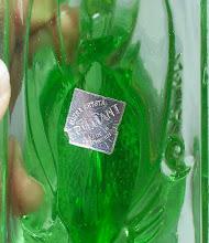 Photo: Label on Feigl & Morawetz, Libochovice, Fish. The label reads  Ultra crystal  Brilliant  made in  Czechoslovakia