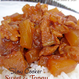 Slow Cooker Sweet and Tangy Pork