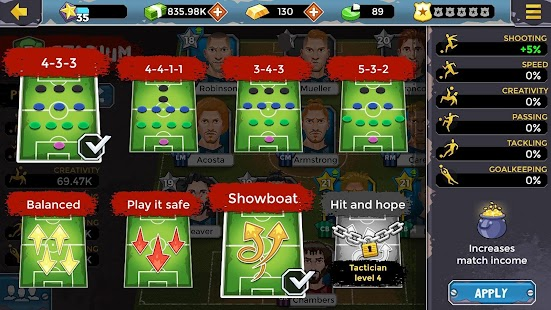 Underworld Soccer Manager 17 3.8.9 Android Application ...