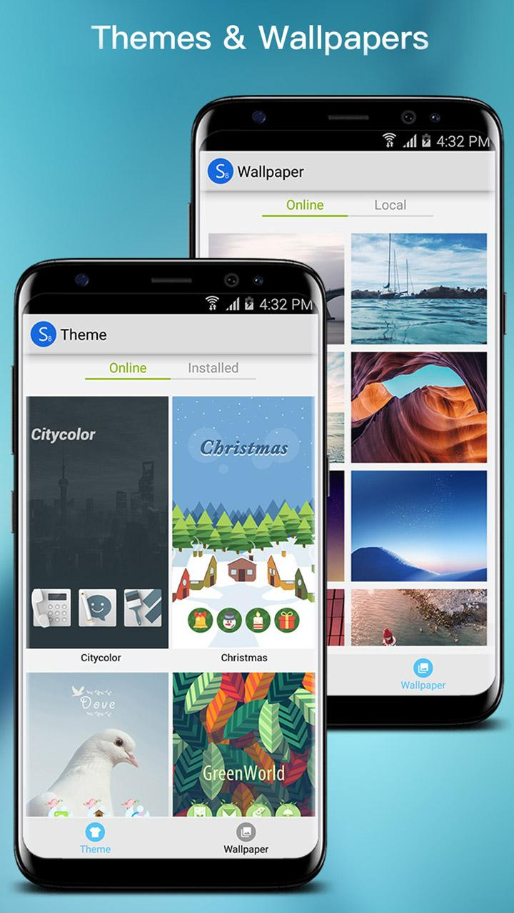 S S9 Launcher - Galaxy S8/S9 Launcher, theme, cool Screenshot 2