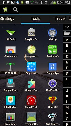 App Bag - A better app drawer