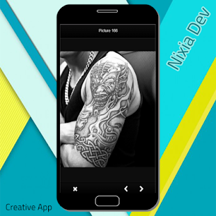 Tribal Tattoo Design - náhled