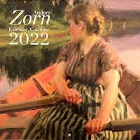 Väggkalender 2022, Zornmotiv