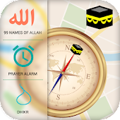 Qibla Compass & Prayer Times