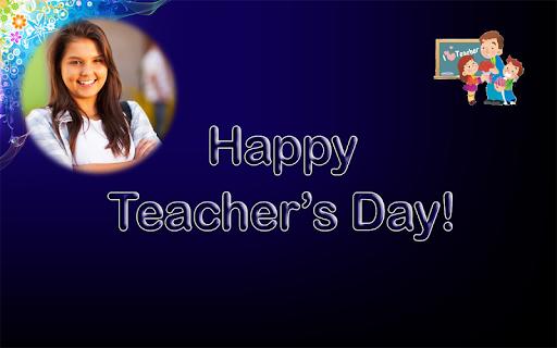 Happy Teachers Day Wish Photo Frame Maker 1.1 screenshots 6