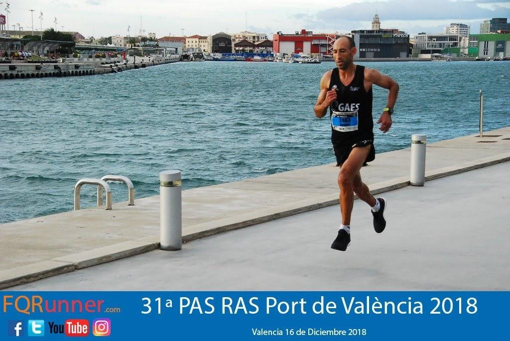 HASSANE AHOUCHAR del GAES RUNNING TEAM