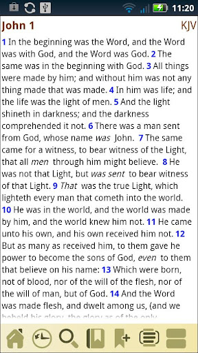 AcroBible Lite screenshot 1
