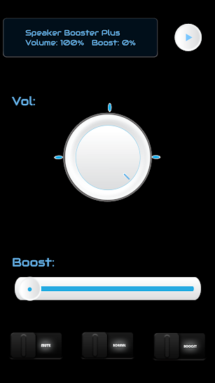 Speaker Booster Plus screenshot for Android