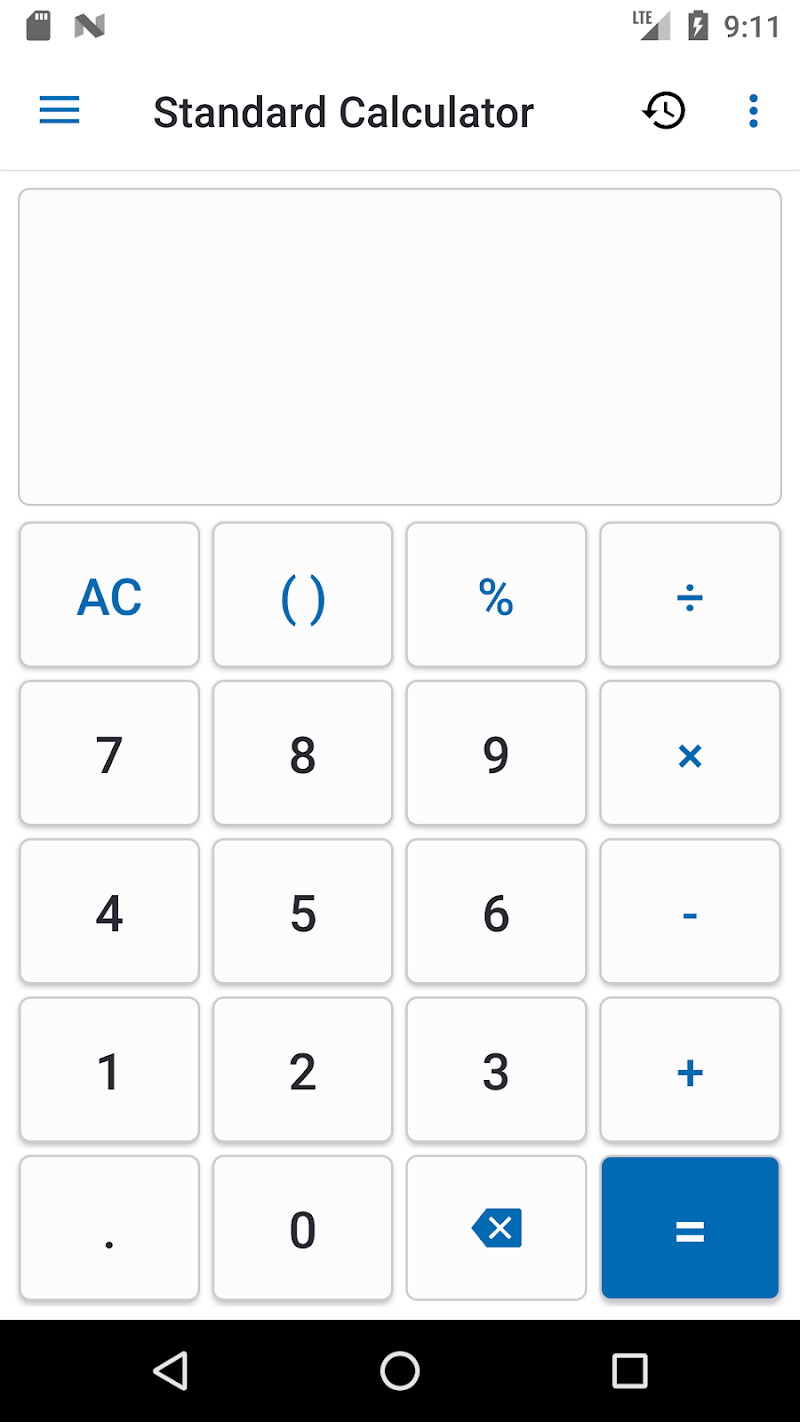NT Calculator - Extensive Calculator Pro Screenshot 0