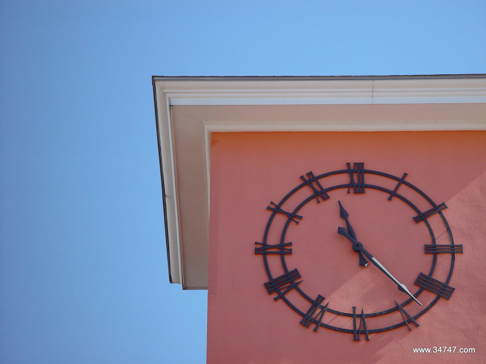 Photo: Market Street Clock, Celebration, FL