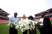 Families of those who lost their loved ones during the Ellis Park Stadium stampede commemorations in 2018 for two of the 43 people who lost their lives on that fateful day in 11 April 2001.