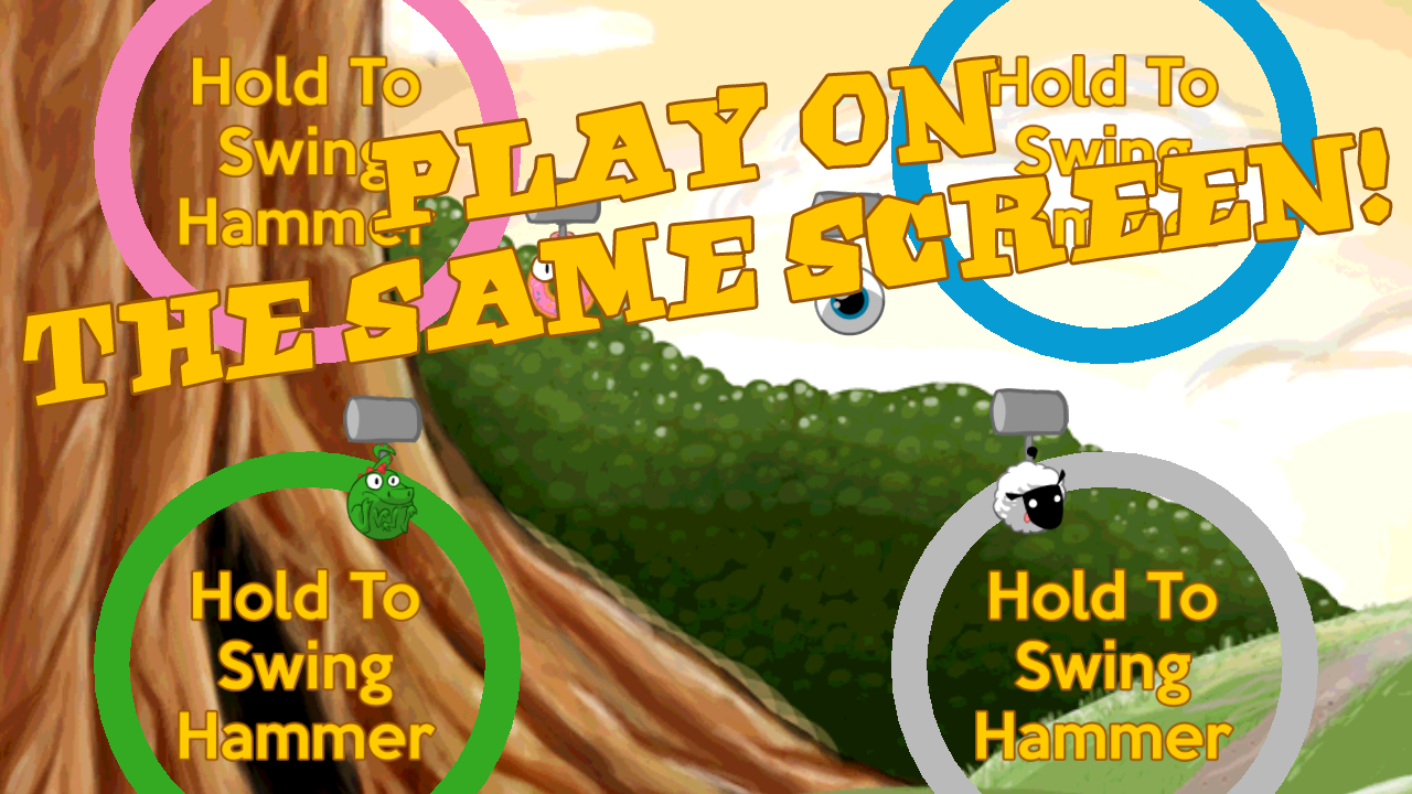 HAMMER SLAMMER- screenshot