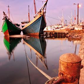 Tambatan by Mahdy Muchammad - Transportation Boats