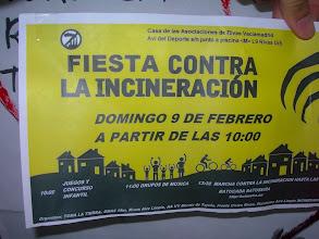 Photo: Fiesta contra la incineración, Ecologistas en Acción y otras asoc., Rivas-Vaciamadrid, 9 de febrerode 2014, 1