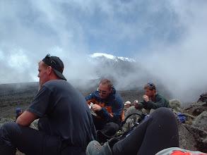 Photo: Rest stop en route down to Rua Camp