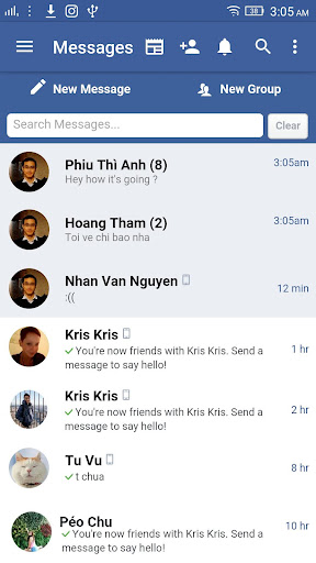 Lite for Facebook Messenger screenshot 4