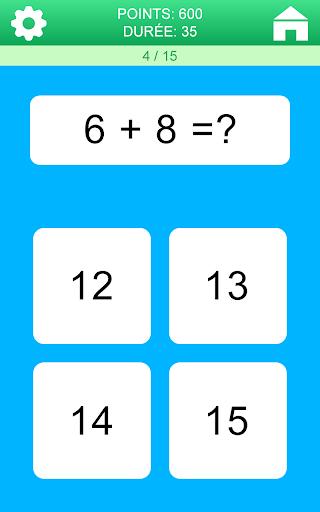 Jeux de Maths  captures d'écran 2