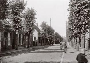 Photo: 1925 De Dreef in Princenhage, mét bomen.