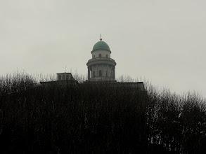Photo: A Pannonhalmi Főapátság épülete borult időben