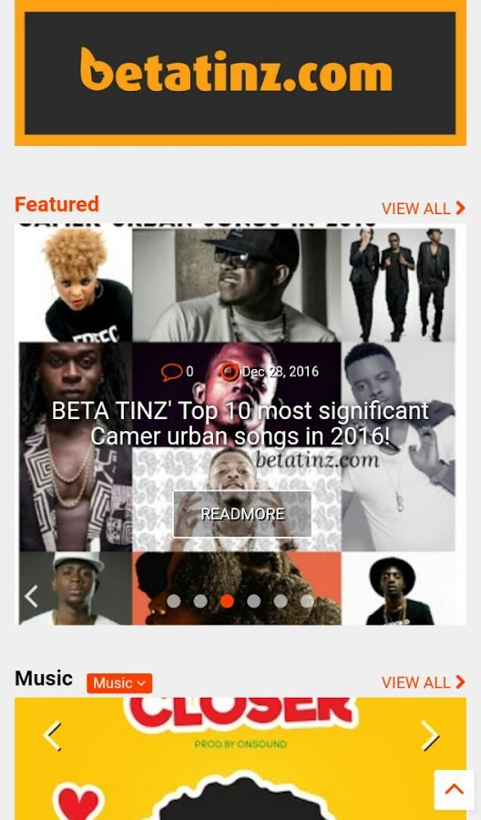 BetaTinz- screenshot