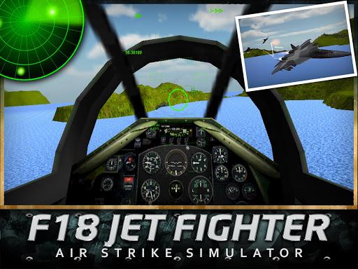 無料动作AppのF18ジェット戦闘機のエアストライク3D|記事Game