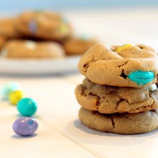 Soft Peanut Butter M&M Cookies