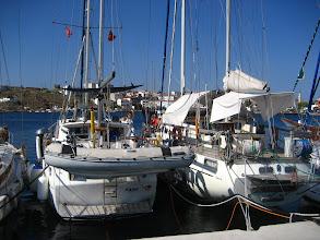 Photo: Pank Bozcaada'da .  Pank in Bozcaada harbor .