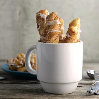 Cinnamon Sugar Twist With Vanilla Icing