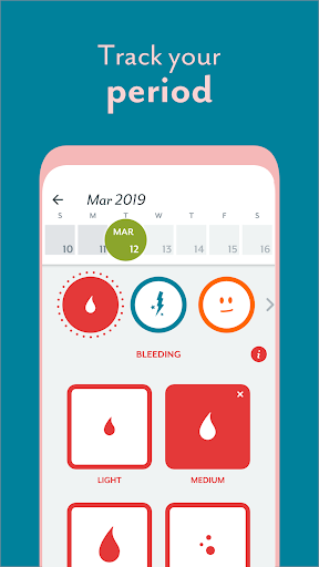 Period Tracker Clue: Ovulation, Period Tracker App screenshot 3