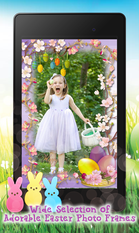 easter egg photo frame maker screenshot