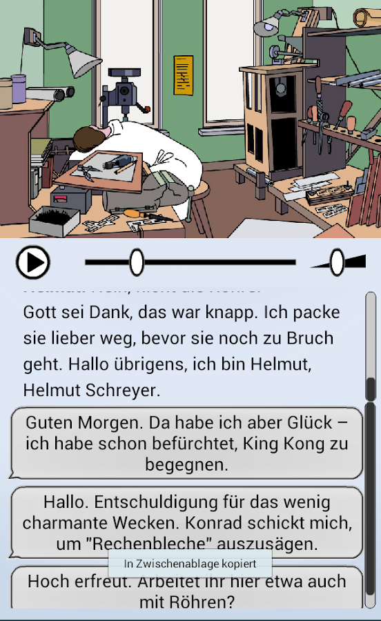 HÖR ZUse! – Screenshot