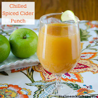 Chilled Spiced Cider Punch