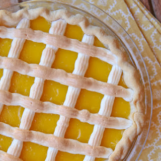 Lattice Lemon Pie – Pie Contest Winner.