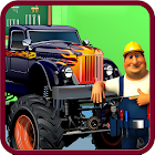 Monster Truck Repairing Builder: Mechanic Garage icon